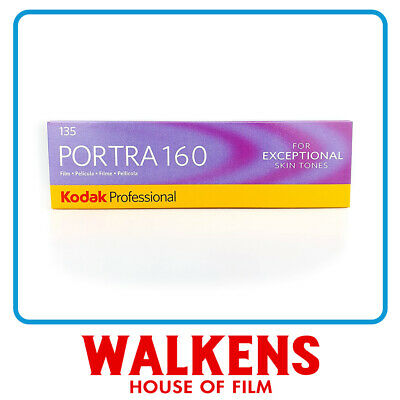 Kodak Portra 160 35mm - 5 rolls Pro-Pack - FLAT-RATE AU SHIPPING!