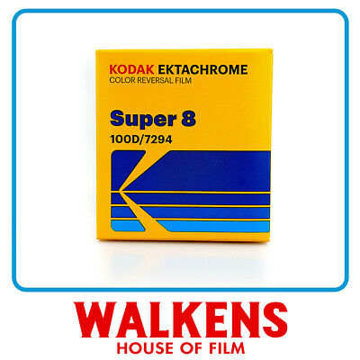 Kodak Ektachrome 100D #7294 - 50ft Super 8 Film - FLAT-RATE AU SHIPPING!