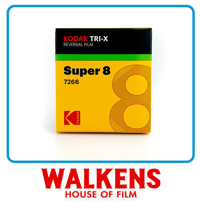 Kodak Tri-X #7266 B&W - 50ft Super 8 Film - FLAT-RATE AU SHIPPING!