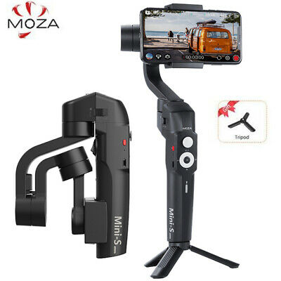 MOZA Mini S 3-Axis Handheld Gimbal Stabilizer for phone Gopro VS Zhiyun Smooth 4