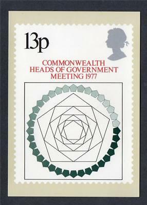 GB 1977 PHQ Cards Mint Set~Commonwealth Heads~(1)~PHQ-23~UK Seller