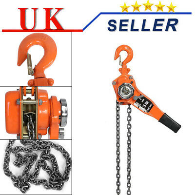 1.0-2.9 2.0 Ton Hand Chain block 6 mtrs Height Of Lift hoist