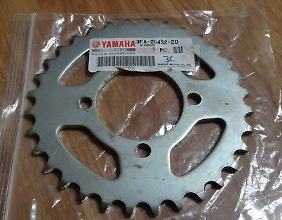 Genuine Yamaha Sprocket , Driven (32T)  3FA-25432-20