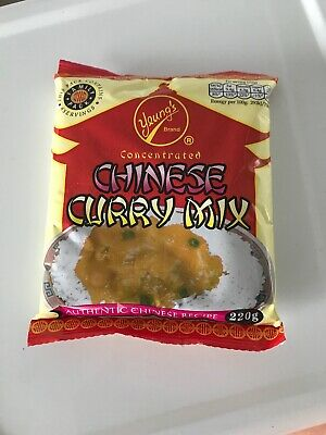 Yeung's Curry Sauce Family Pack 220g Uk Scottish Chinese Curry Sauce