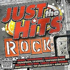 Just The Hits: Rock . 2 CD COMPILATION.  KISS, QUEEN, THE CURE, THIN LIZZY