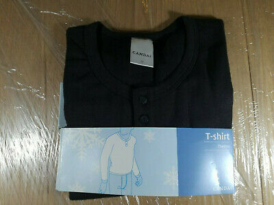 T-shirt Schwarz Longsleve M Thermo Thermal