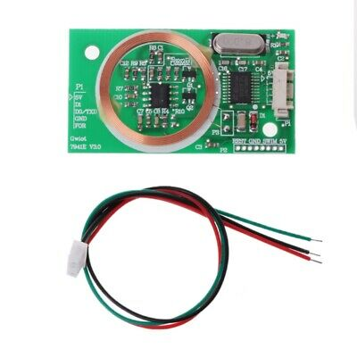 1X UART 125KHZ EM4100 RFID Card Key ID Reader RF Module RDM6300 for