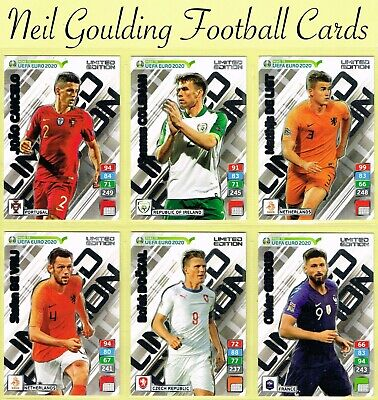 Panini - ROAD TO EURO 2020 ☆☆☆☆☆ LIMITED EDITION ☆☆☆☆☆ Football Cards