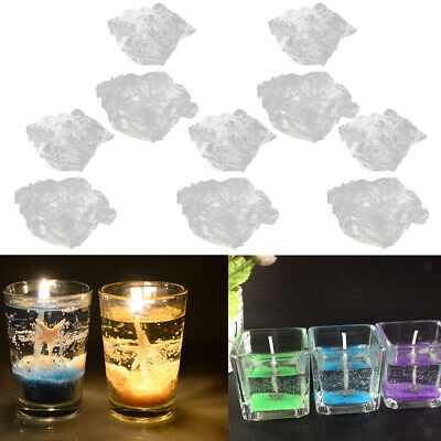 1 kg HIGH DENSITY Transparent GEL CANDLE WAX JELLY CANDLES MAKING SUPPLIES