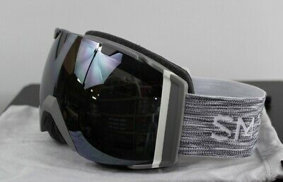 d8f14cfadc6 New 2019 Smith I O Snow Goggles IO Cloudgrey ChromaPop Sun Platinum Mirror+ Bonus