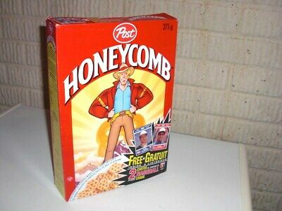 Vintage 1991 HONEYCOMB Baseball Card Offer Cereal Box CANADA EXCLUSIVE Post