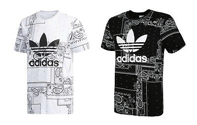 ADIDAS ORIGINALS BANDANA Graphic Tee (DX4201) Running Gym
