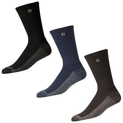 FootJoy Mens ProDry Crew Socks - New Golf Sports Breathable Comfort Pair Pack