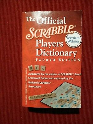The Official Scrabble Players Dictionary Fourth Edition