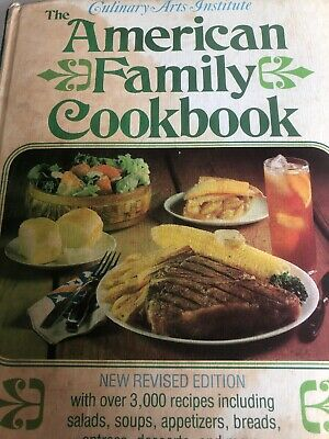 The American Family Cookbook by M De Proft 1974 HARDBACK