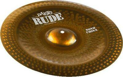 Paiste RUDE Novo China 20' showroom
