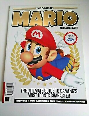 Retro Gamer The Book Of Mario Magazine Ultimate Guide Used Good Condition