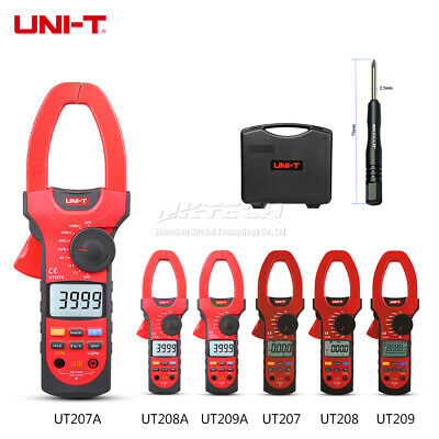 UNI-T Digital Clamp Meter Auto Range AC DC Volt Current 1000V 1000A Ammeter 55mm