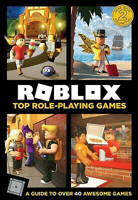 Roblox Top Role-Playing Games by Roblox Hardcover Book Free Shipping!