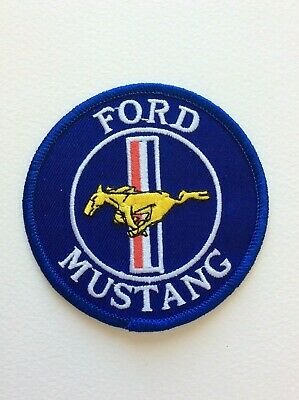 A475 Patch Ecusson Ford Mustang 8 Cm
