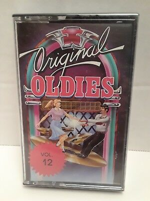 ORIGINAL OLDIES VOLUME 12 VARIOUS ARTISTS CASSETTE TAPE new sealed
