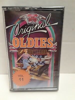 ORIGINAL OLDIES VOLUME 11 VARIOUS ARTISTS CASSETTE TAPE new sealed