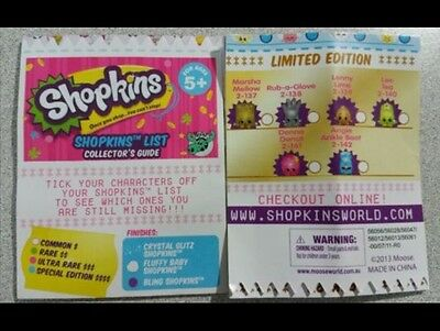 graphic relating to Shopkins List Printable named Shopkins Record Period 1 TheatrePops