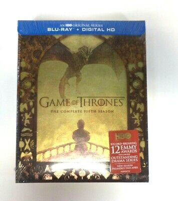 Game of Thrones: The Complete Fifth Season (BLU-RAY + Digital HD) - Free Shippin