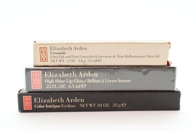 3 Piece Elizabeth Arden Mixed Lot - Concealer, Eyeliner and Lip Gloss NEW-DETAIL