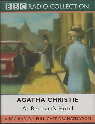 AT BERTRAM'S HOTEL by Agatha Christie ~ BBC Two-Cassette Audiobook