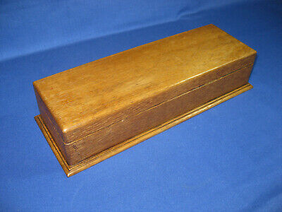Lovely Vintage Art Deco 1930s Oak Wooden Glove Box Or Desk Box
