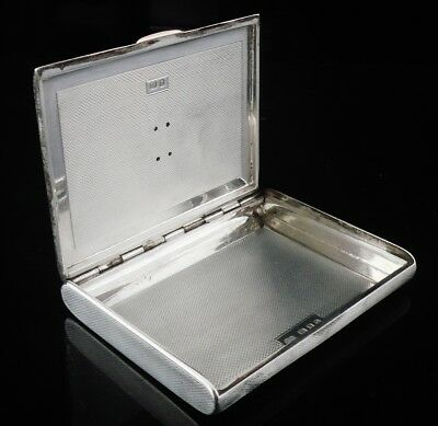 Quality Silver & Gold Card Case, London 1938, Goldsmiths & Silversmiths