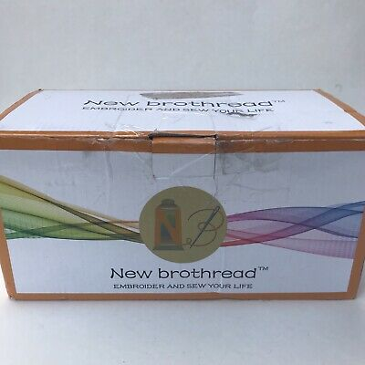 New brothread 100% Polyester Embroidery Machine Thread 500M (550Y) - 63 Spools