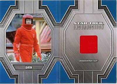 2017 Star Trek 50th Anniversary RC21 Data Observation Suit Relic Card