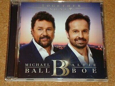MICHAEL BALL & ALFIE BOE - Together Again - CD album - FREEPOST IN UK
