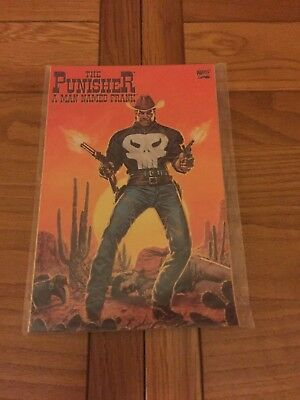 Punisher A Man Named Frank Gn. Nm Cond. Marvel. 1994