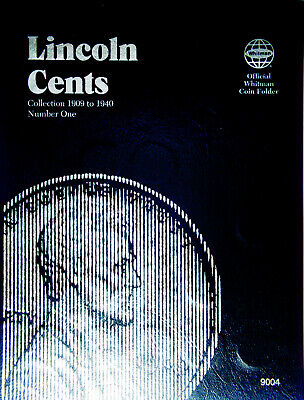 Lincoln Wheat Cent Collection - 1909 to 1940