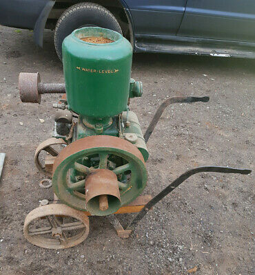 Lister A junior 3 hp stationary engine with Lister H3 pump