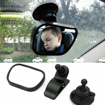 Safety Car Back Seat Baby View Mirror Suction Clip-On Adjustable Baby Rear