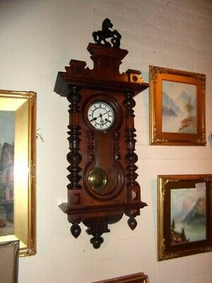 Stunning Victorian Chiming Wall Clock