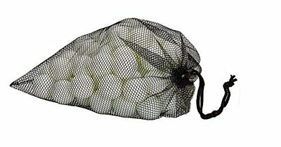 Practice Golf Ball In mesh bag, Lite Weight Hollow Plastic Golf Balls, 80 pc