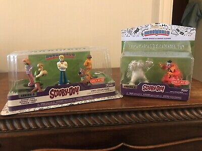 Scooby Doo Funko HeroWorld 2 Pack Lot of Series 5 Figures Fast Shipping