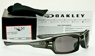 156a0f9a1a6d1 NEW OAKLEY FIVES SQUARED Grey Smoke Warm Gray Lens OO9238-05 GENUINE USA  MADE