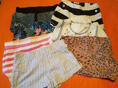 Girl's Spring & Summer Clothes Lot 7 Size 8 Shorts, Shirts, Tommy Hilfiger,
