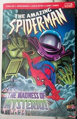 The Amazing Spider-man: The Madness of Mysterio, Lee, Stan, Good Condition Book,
