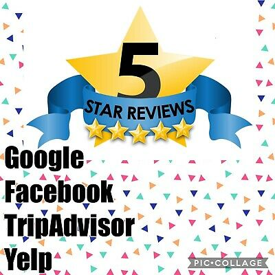 3 x 5 Gold Star Reviews Real Human Google Or Any Other Platform You Desire