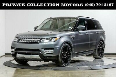 2017 Land Rover Range Rover Sport  2017 Land Rover Range Rover Sport HSE Td6 One Owner Ivory Interior
