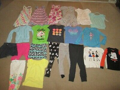 Lot Of Girls Size 6/6x Clothes 21 Pieces Various Brands Carters, Circo, Etc.
