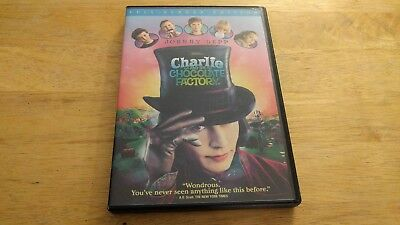 Charlie and the Chocolate Factory (DVD, 2005, Full Frame/Full-Screen)