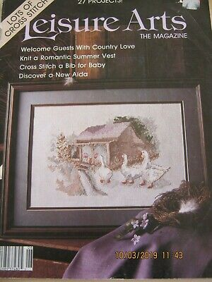 Leisure Arts Magazine  Lots Of Crossstitch